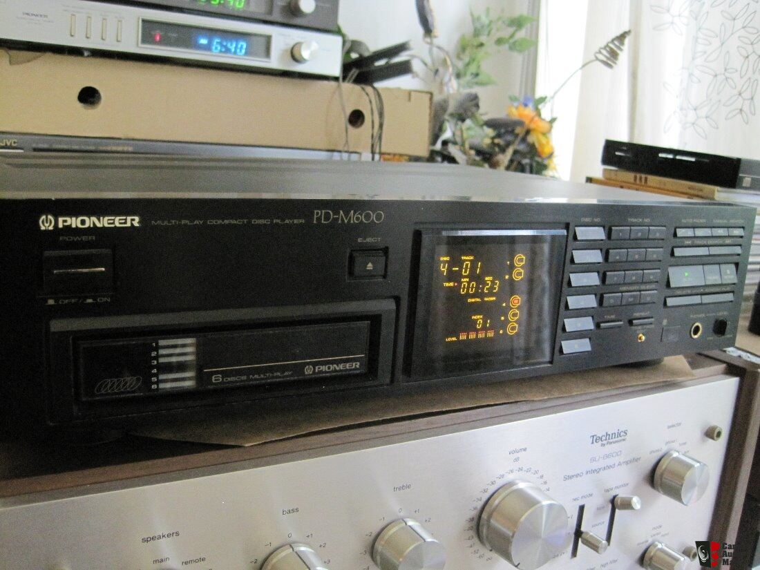 Pioneer PD-M600 Multi-Play 6-Disc CD Player Photo #1776645