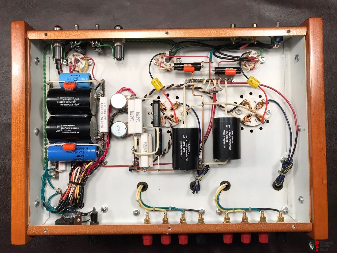 Custom Built 2A3/300B Tube Single-Ended Stereo Amplifier