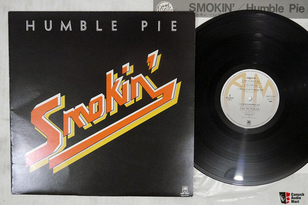 Japanese Vintage Vinyl -Humble Pie -Steely Dan -Dylan -ARGENT -The Band - STYX