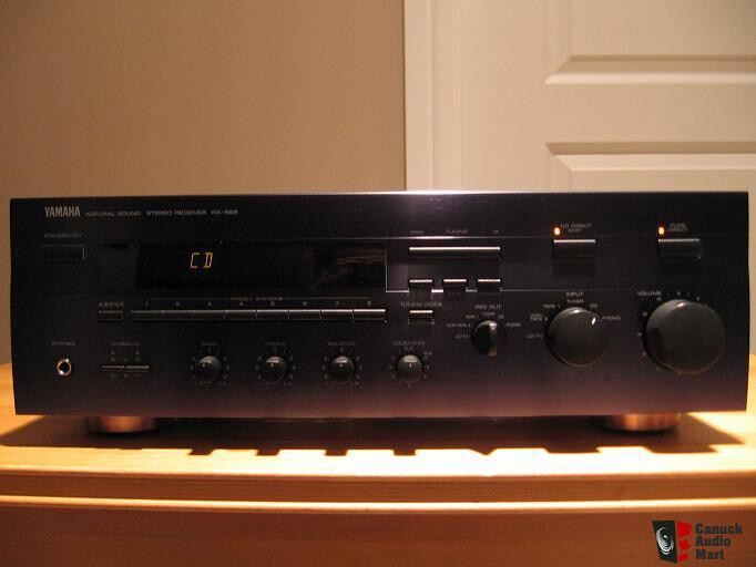 yamaha rx 596 stereo receiver photo 180607 canuck audio