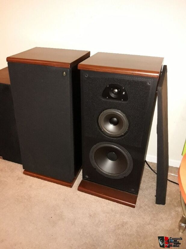 Mission 762i Bookshelf Speakers With Target Stands Kimber Kable L Acoustic Research TSW 510