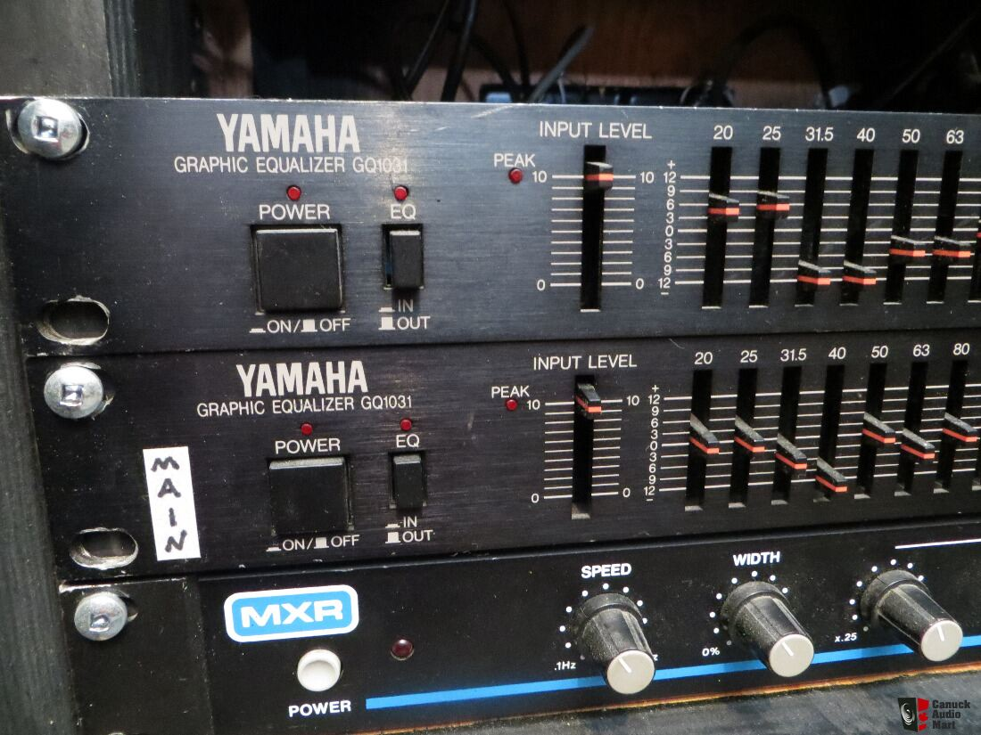 Yamaha GQ1031 Rack mount Graphic EQ