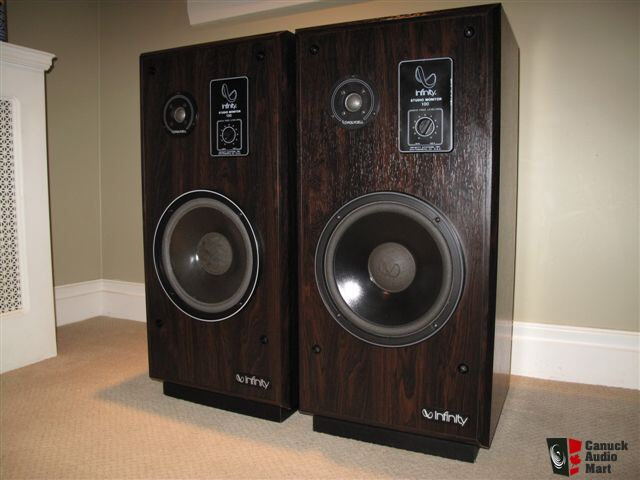 Infinity Speakers Studio Monitors Sm 100 S Photo