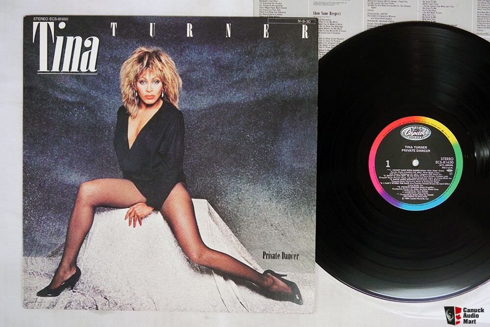 Japanese Vintage Vinyl- Tina Turner -BTO- The WHO - YES-  Ginger Baker's Air Force - Bonnie Raitt -