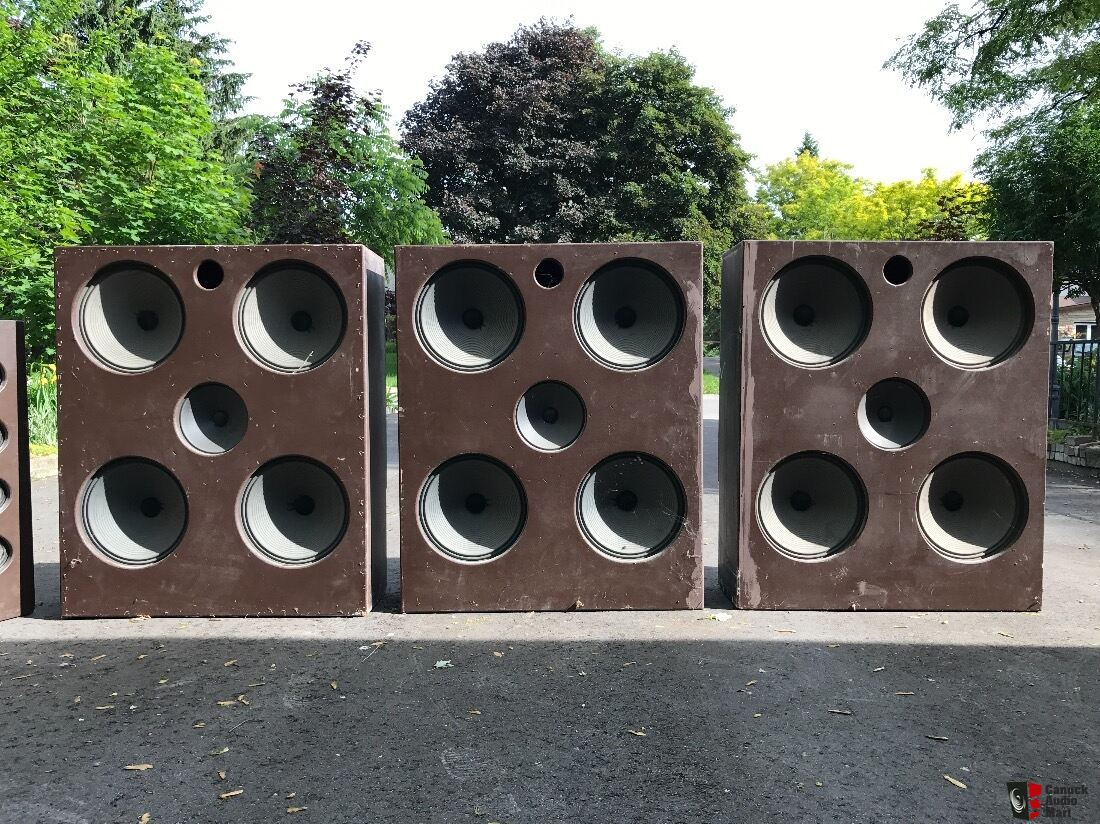 Church Organ Speakers - 3 x Rodgers WS-100 (4x15