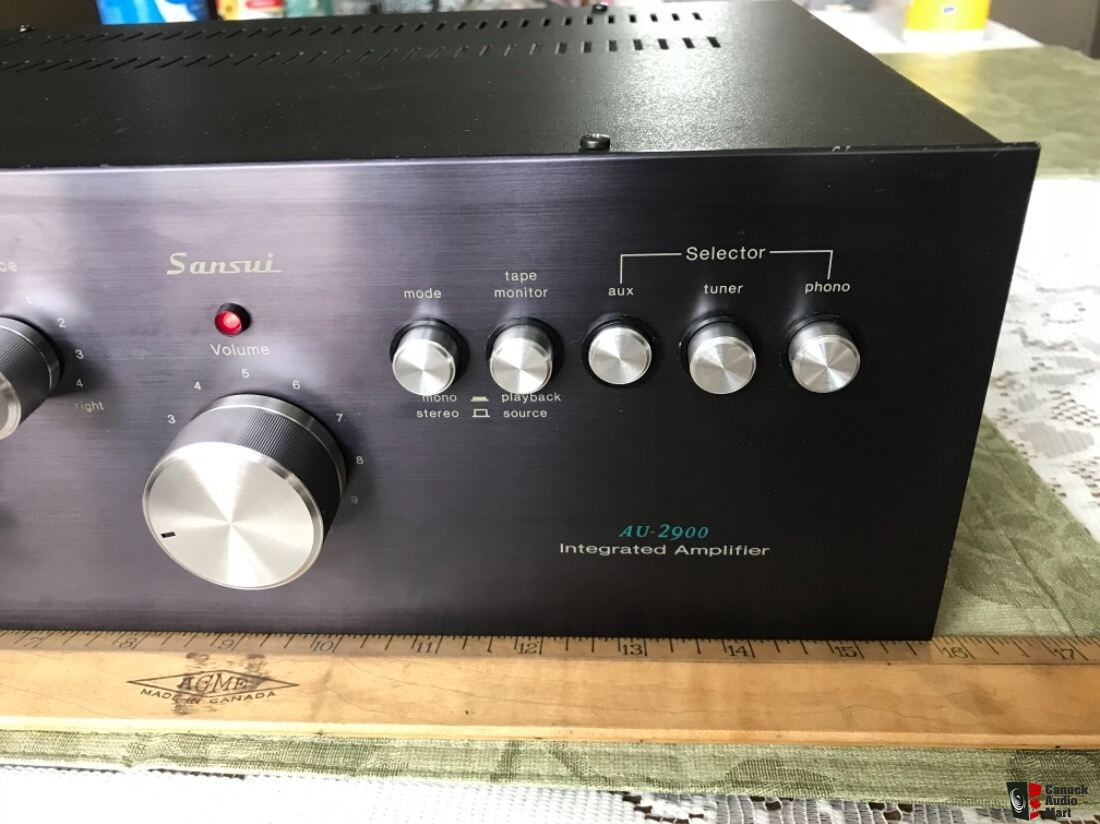 Refurbished 1976 Sansui AU-2900 Integrated Amplifier Works A1 Photo
