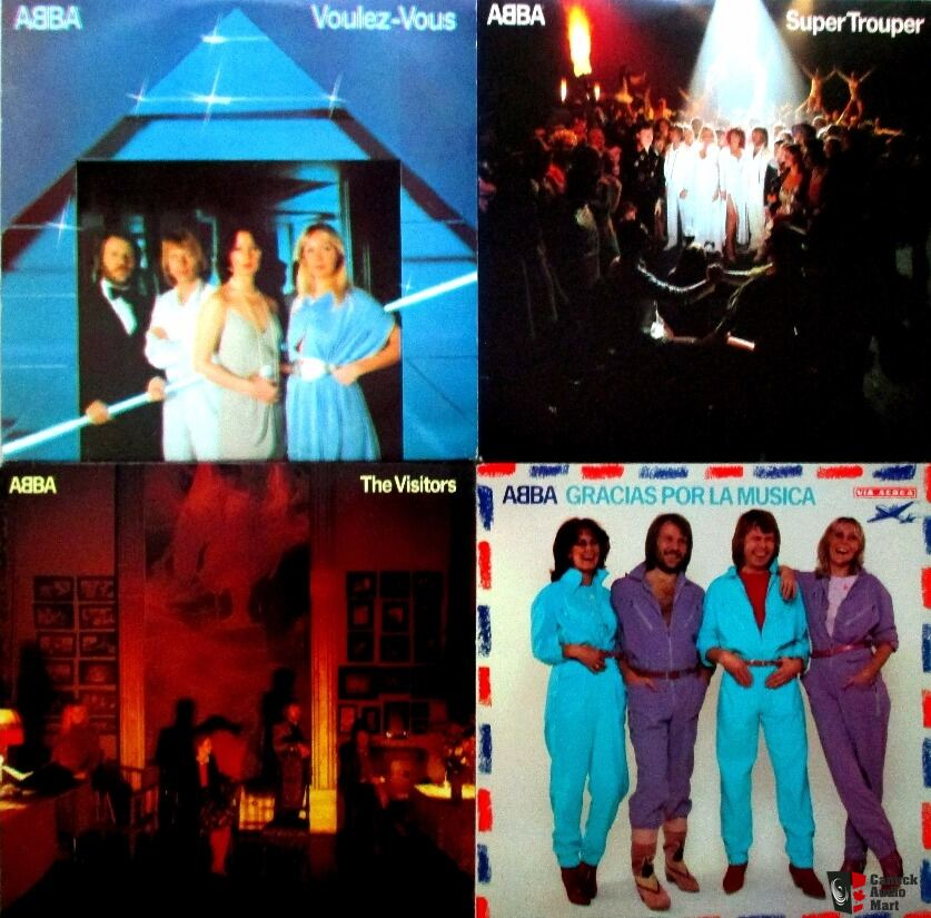 ABBA - 7 Lps Vinyls Collection