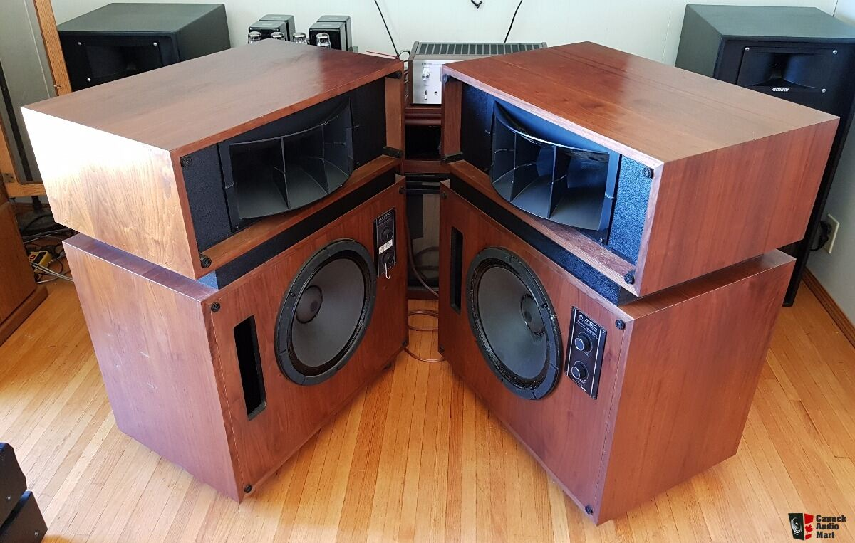 Altec model Nineteen speakers- gorgeous condition and work perfectly -SALE PENDING