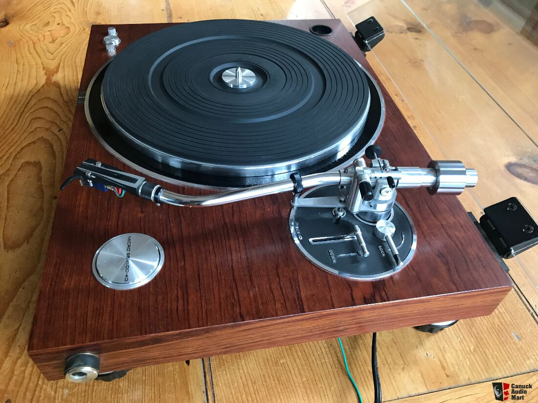 MICRO SEIKI DD-40 Turntable - w Ortofon Cartridge, MA-505