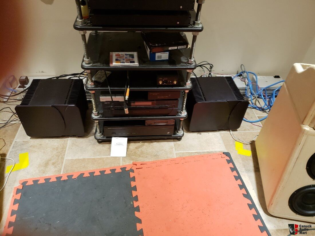 SOLD to Rick Pass Labs Aleph 2 Monoblock Power Amps (Clones) Photo