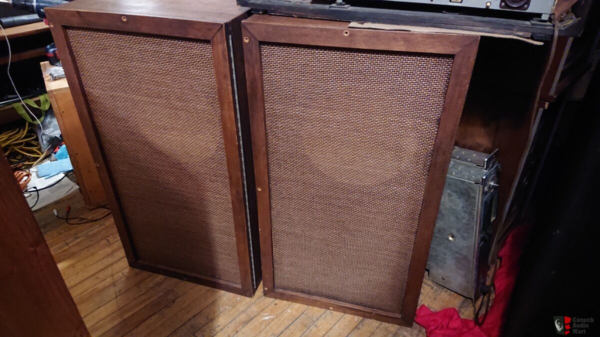 "CBC Tannoy Gold 12"" Speaker empty Cabinets, sold on hold ..."