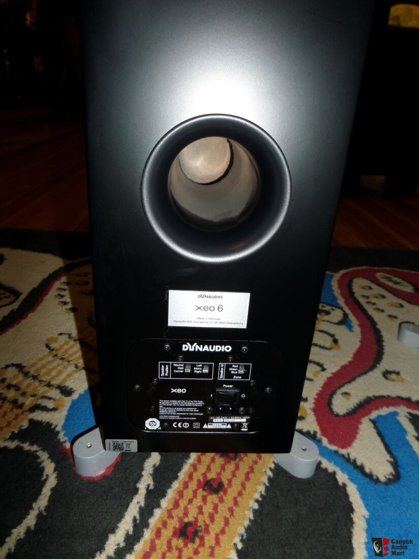 Dynaudio XEO6 Active Floorstanding Speakers Pair