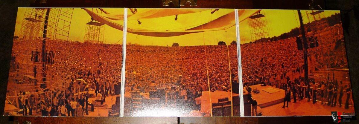 Mfsl 5 200 Woodstock 5 Lp Box Set Vinyl Is In Mint