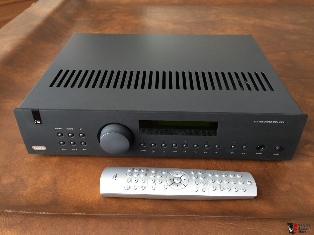 ARCAM FMJ A38 Integrated Amp with HT bypass Photo #2006824