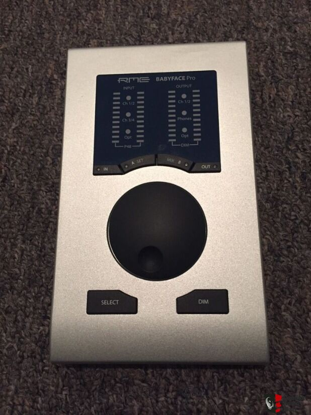 RME Babyface Pro - Audio Interface, DAC, Headphone amplifier