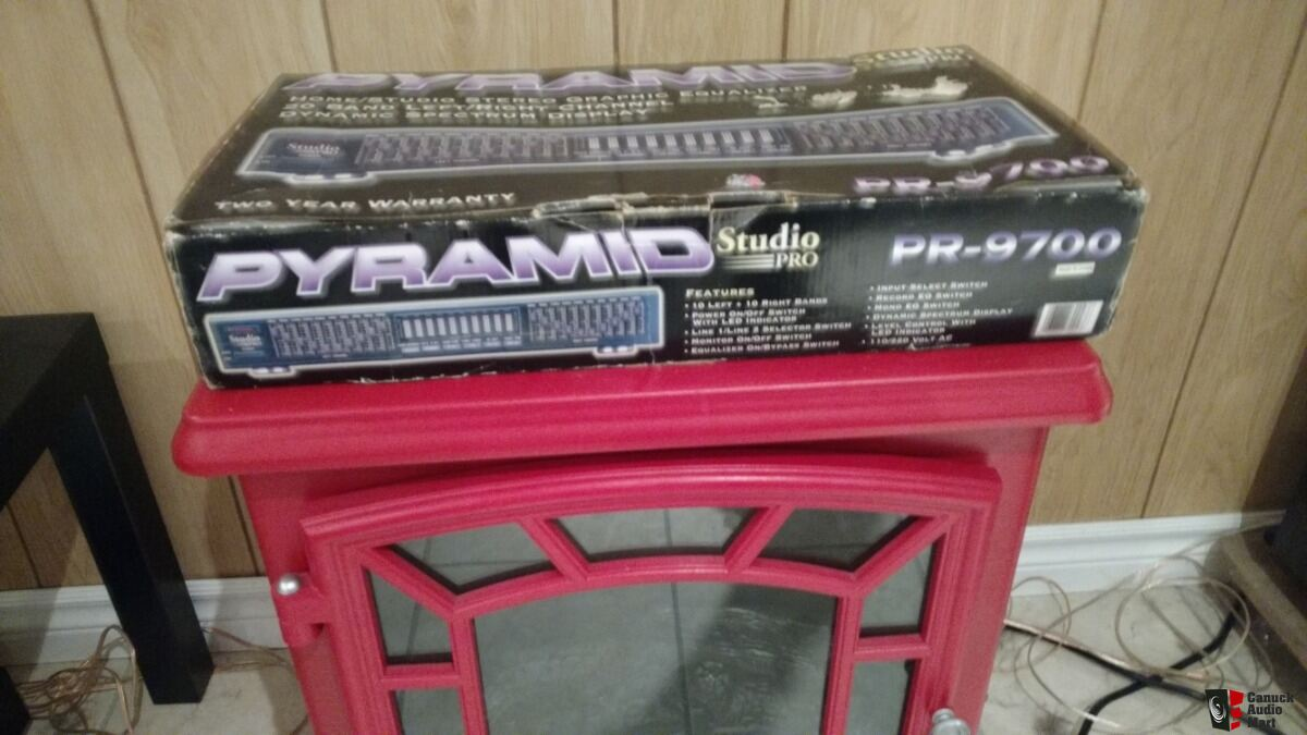 Pyramid 20 band equalizer