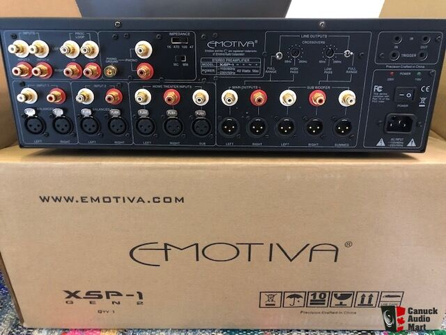 Emotiva XSP-1 Gen 2 PreAmp Photo #2093913 - UK Audio Mart