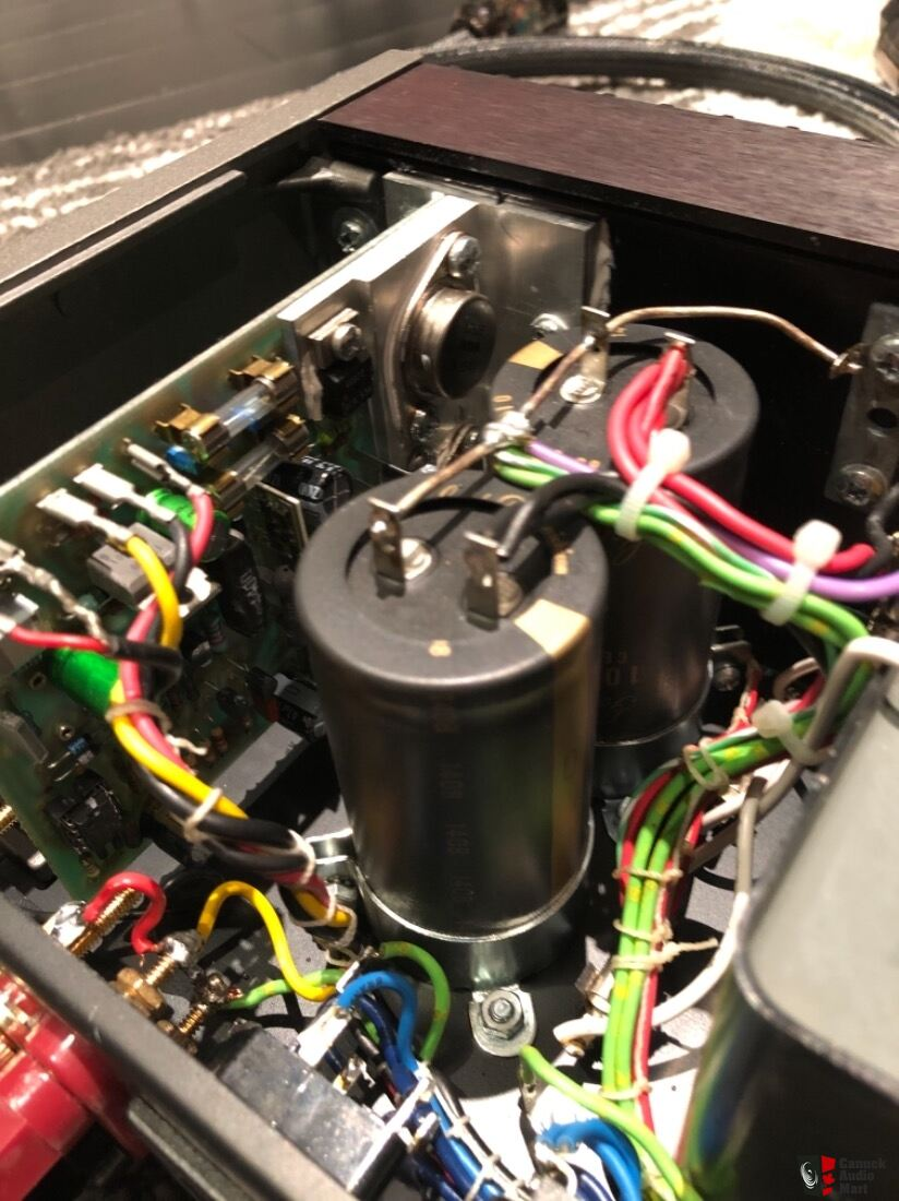 QUAD 405-2 power amplifier fully restored and Quad 34 Photo #2094471