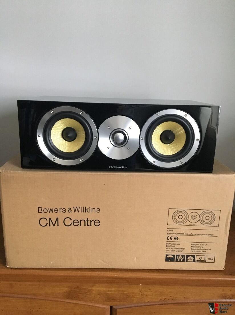 Bowers Wilkins Cm Centre Photo 2117417 Uk Audio Mart