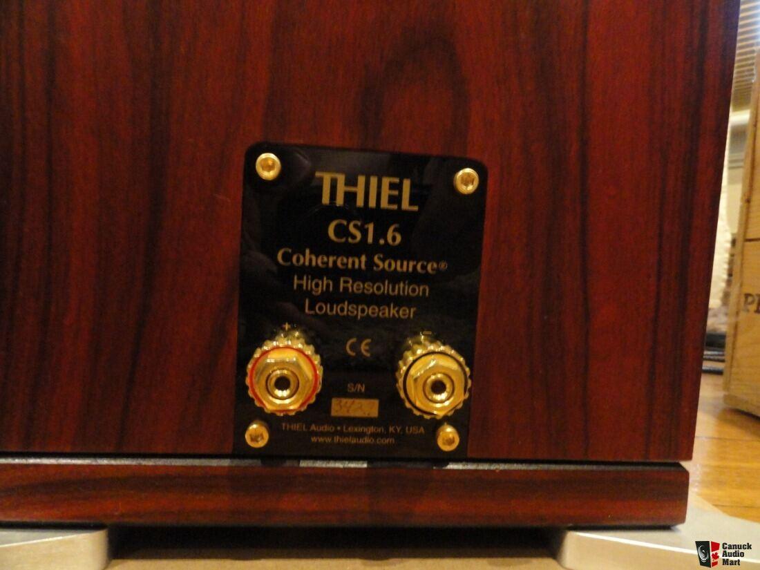 Thiel CS 1 6 Speakers + Thiel SS1 Sub + PX02 Crossover +