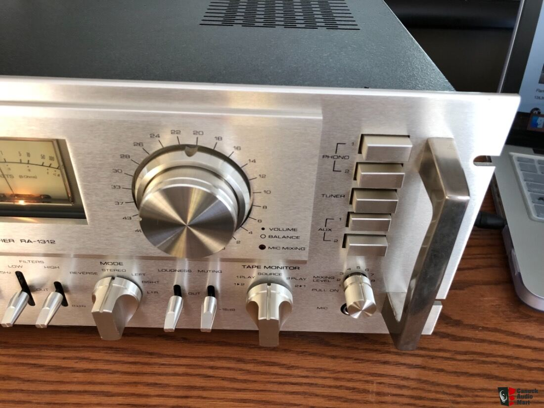Refurbished 1977 Rotel RA-1312 Integrated Amplifier 38 5lbs robust