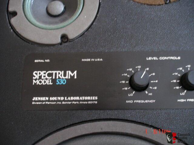 Vintage Jensen Spectrum 530 Speakers Photo 217413