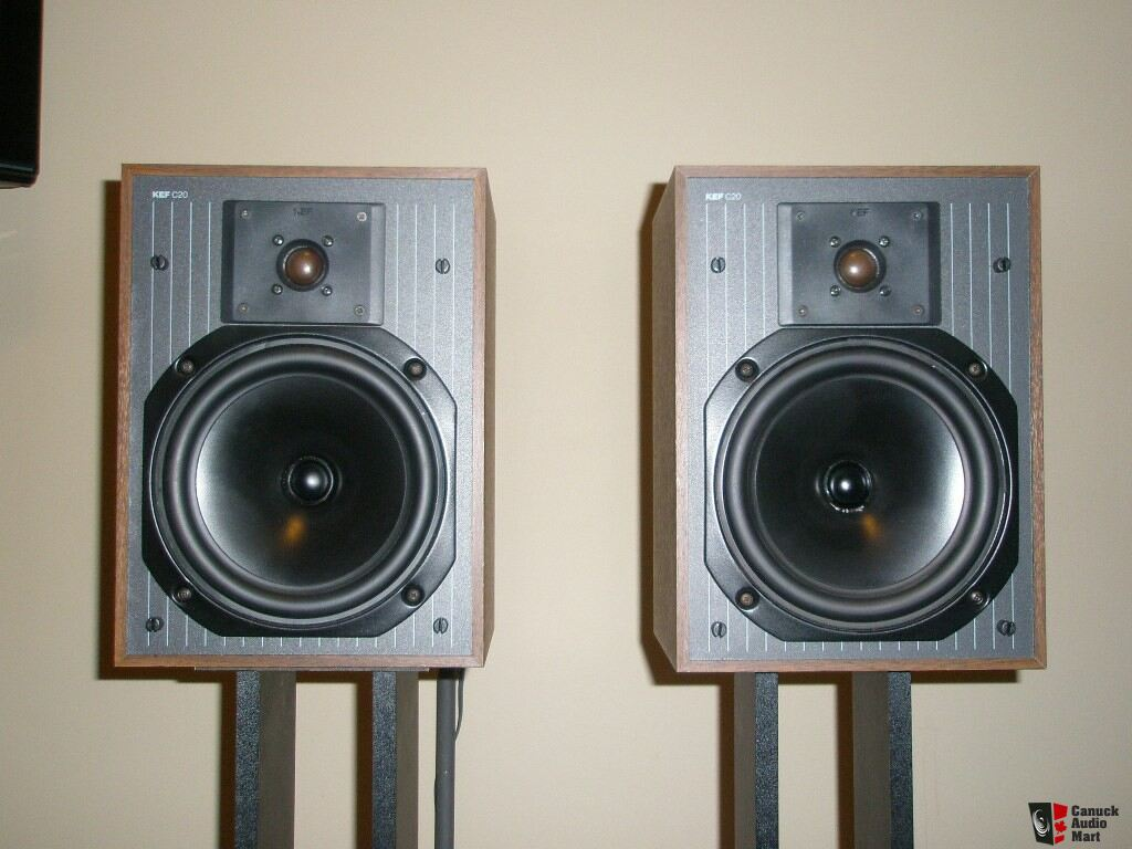 KEF C20 Speakers http://www.canuckaudiomart.com/details/172416-kef_c_series_c20_speakers/images/218020/