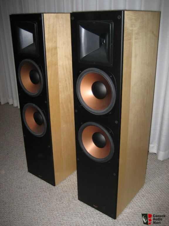 klipsch rf 7 maple photo 219279 canuck audio mart. Black Bedroom Furniture Sets. Home Design Ideas