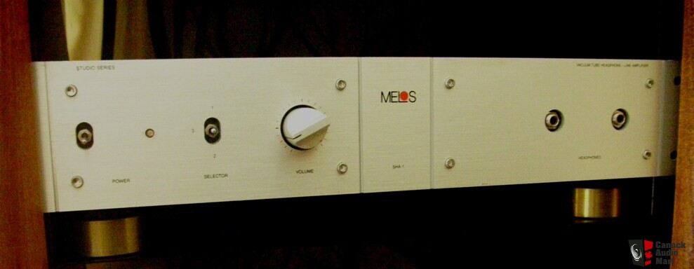 Melos Sha 1 Tube Preamp Headphone Amp Photo 240550