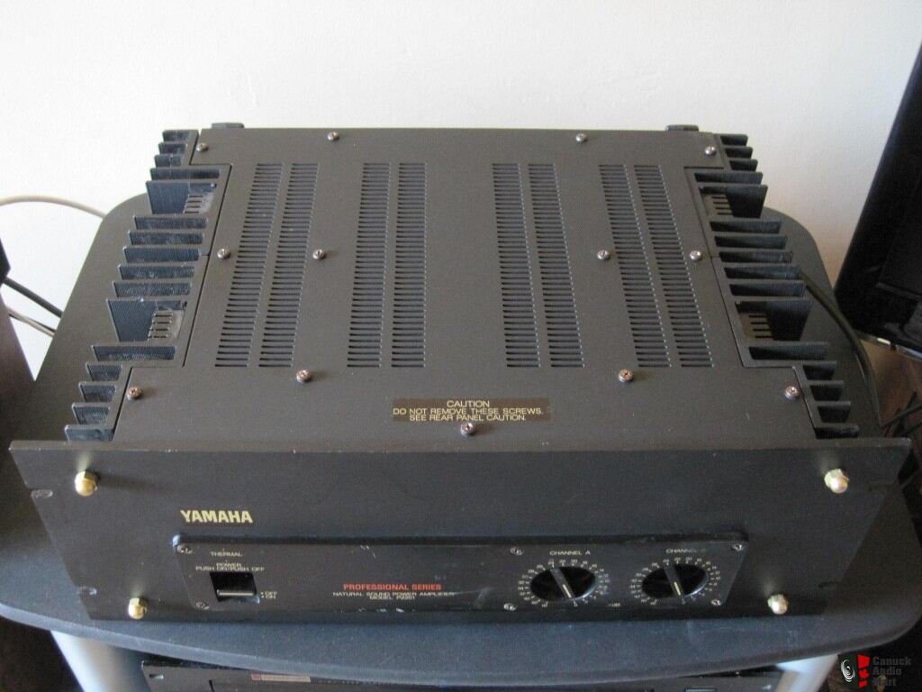 yamaha p2201 professional series power amplifier 230wpc
