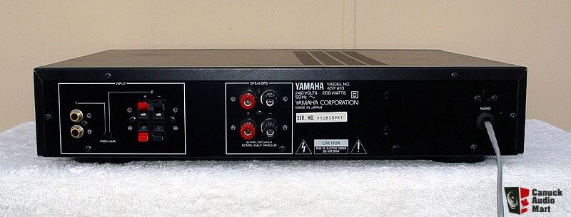 yamaha ast a10 amplifier and ast s1 speakers system mint