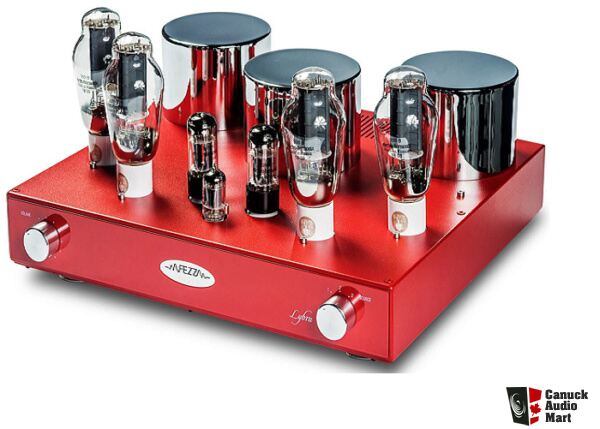 Fezz Audio 300b Tube Integrated Amplifier Gloss Red Finish Se