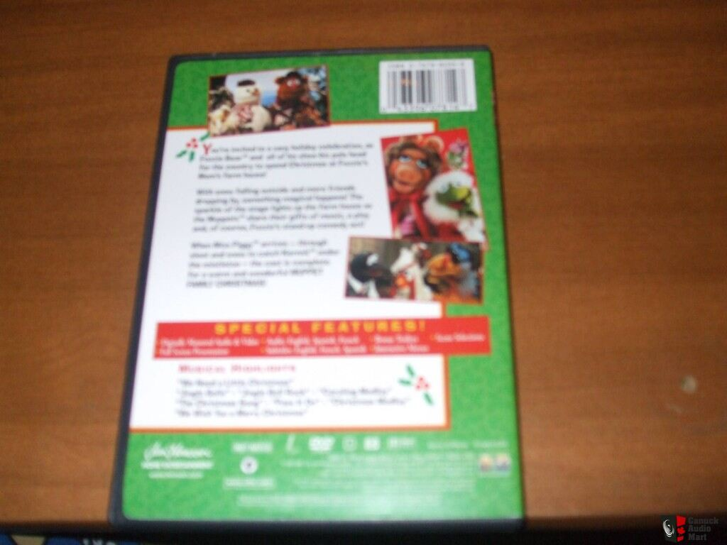 muppet family christmas dvd 1987out of print