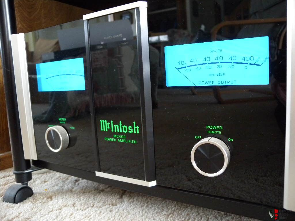Selling It All Mcintosh Mc402 Power Amplier Photo