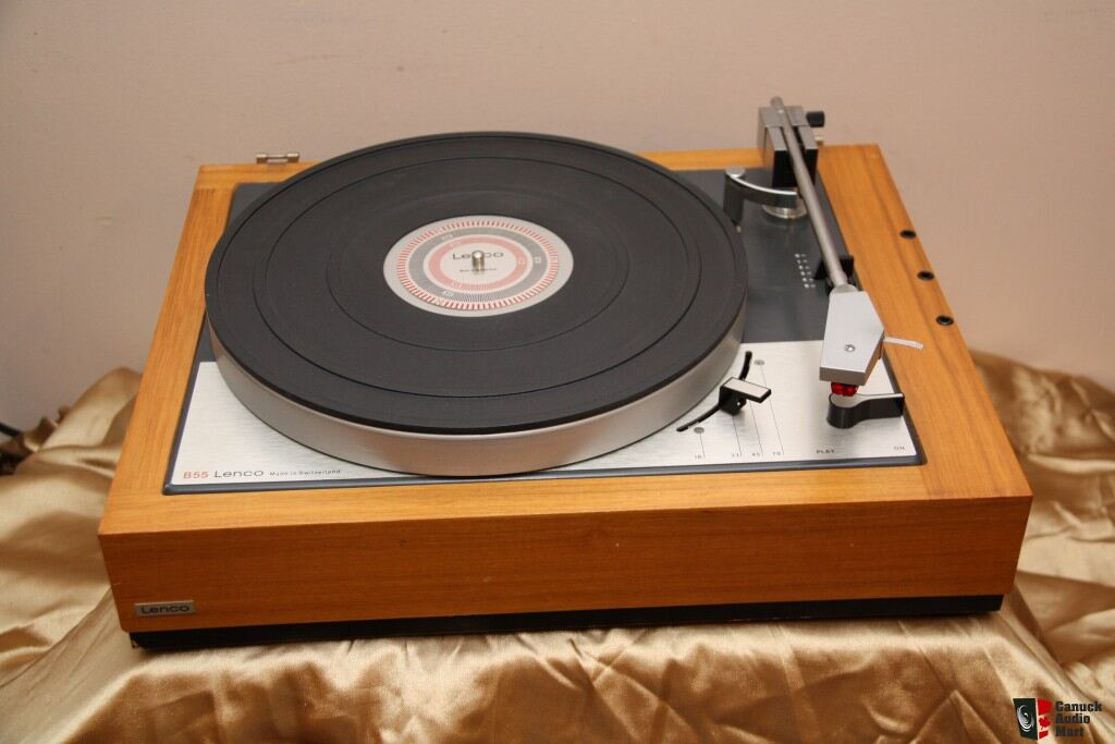 Vintage Goldring Lenco B 55 Turntable