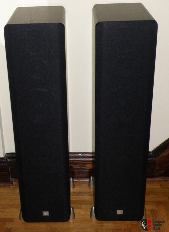 Jbl L890 Floor Standing Speakers Black Ash Photo 315394