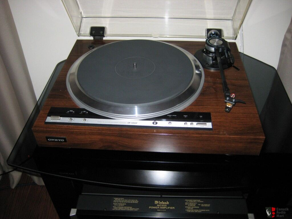 onkyo turntable. onkyo cp-1260f turntable quartz drive onkyo turntable