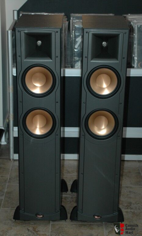 klipsch reference iv rf82 floorstanding speakers photo. Black Bedroom Furniture Sets. Home Design Ideas