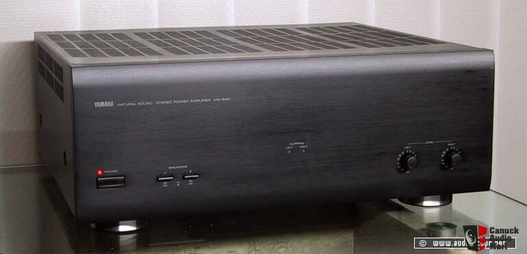 yamaha mx 630 natural sound amplifier photo 332757