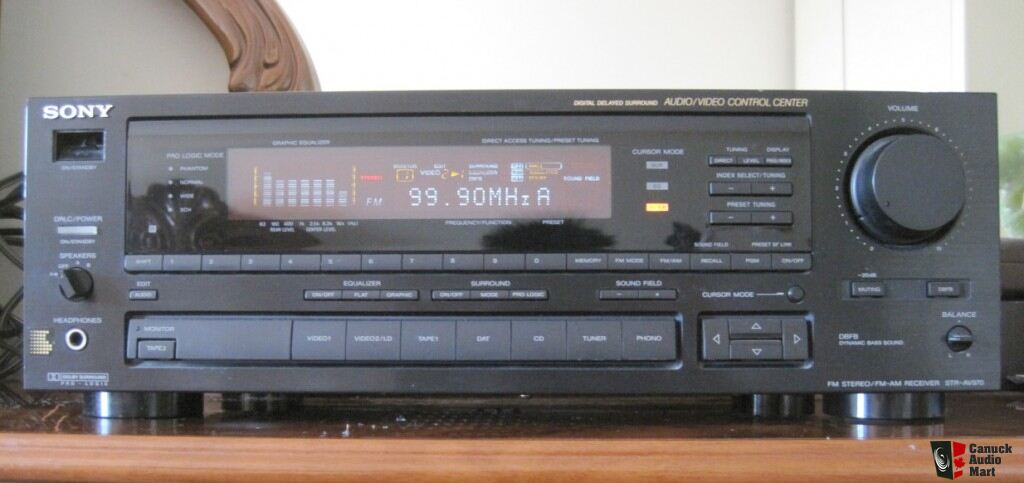 SONY STR-AV970 STEREO RECEIVER