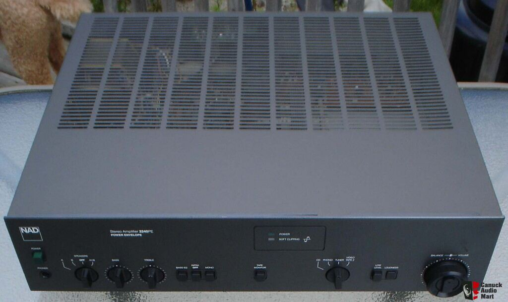 nad 3240pe power envelope stereo integrated amplifier owner s