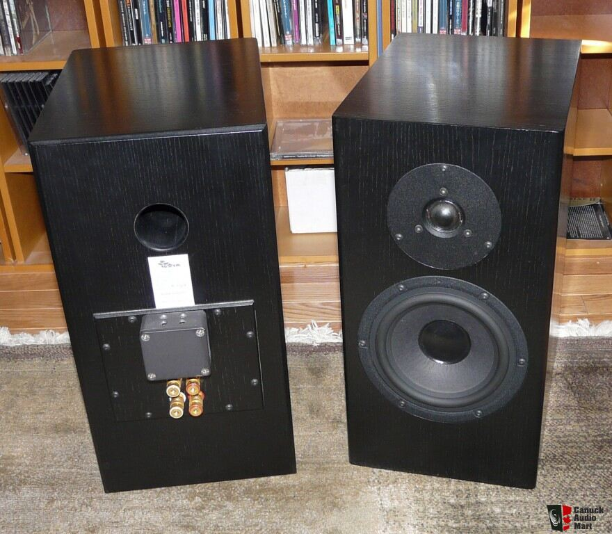 speakers in target. totem tabu stand-mount speakers and target mr24 speaker stands in