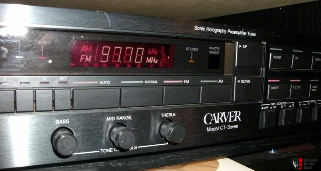 Carver CT-7 PreAmp / Tuner