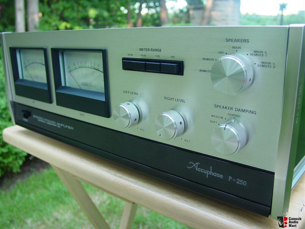 Accuphase P-250 all original power amp with box
