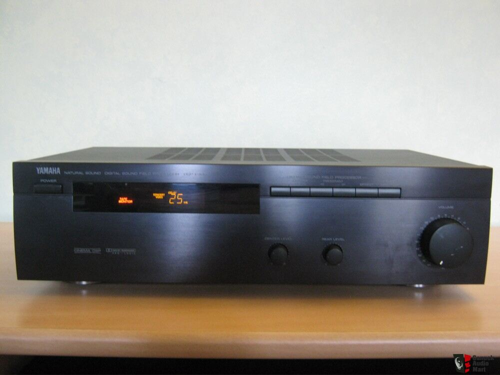 yamaha dsp e390 surround sound processor photo 365316