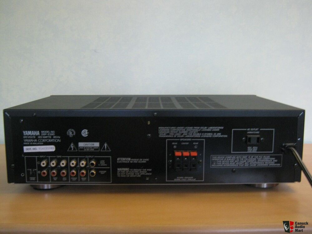yamaha dsp e390 surround sound processor photo 365321