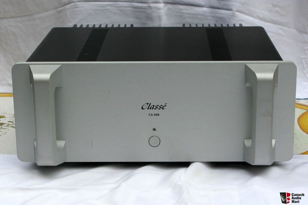 classe ca 200 power amplifier photo 382461 canuck audio mart. Black Bedroom Furniture Sets. Home Design Ideas
