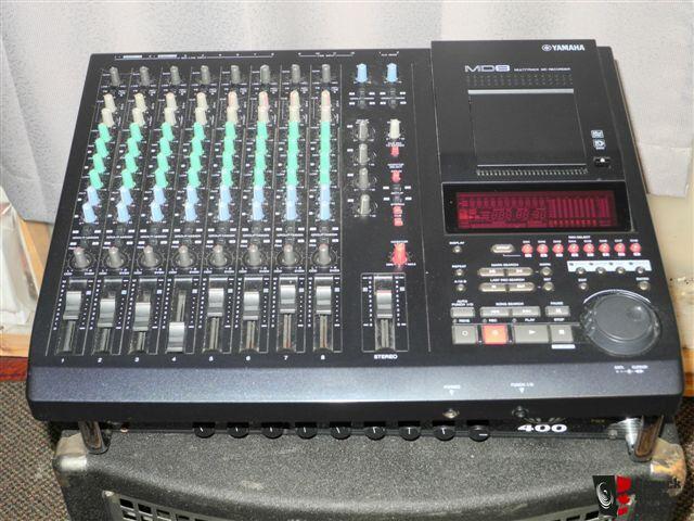 yamaha md8 digital 8 track recorder photo 388005 canuck audio mart. Black Bedroom Furniture Sets. Home Design Ideas