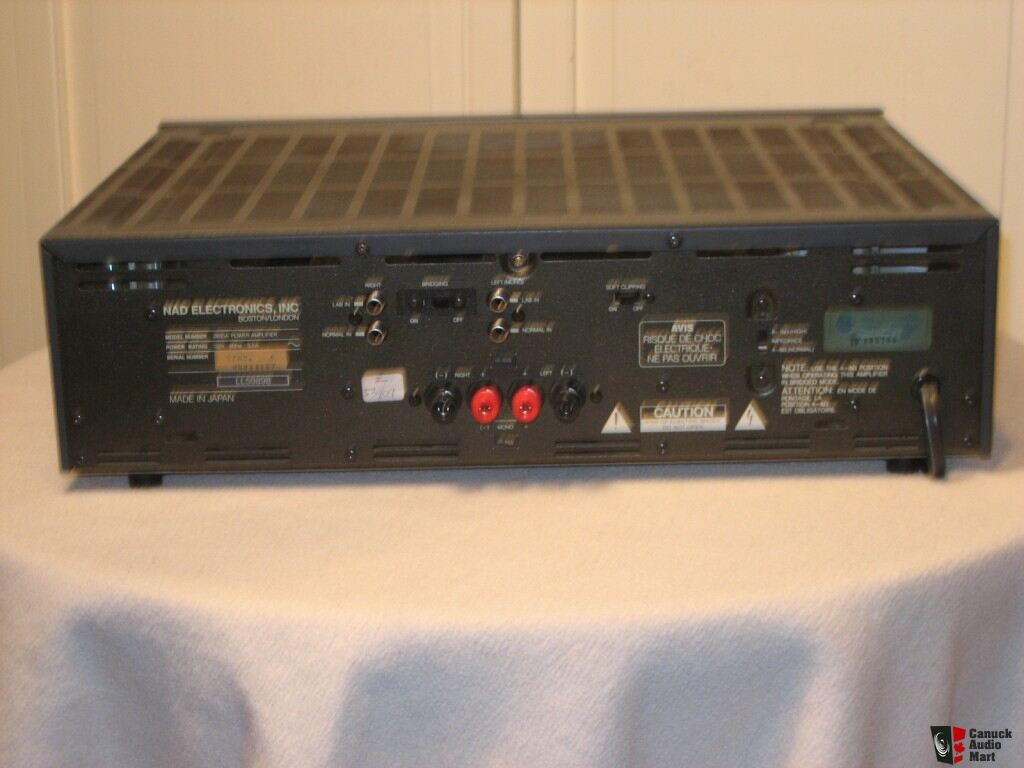 Nad 2600a Power Envelope Amp Photo 392209 Canuck Audio Mart