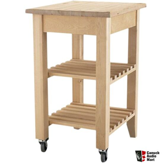 Ikea Butcher S Block Table Photo 396817 Canuck Audio Mart
